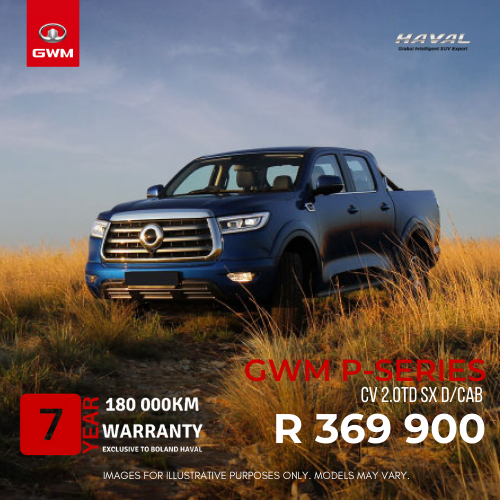 GWM Special at Boland Haval Paarl P-Series